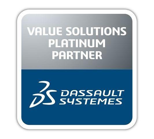 Logo Dassault Systèmes Business Partner Platinum